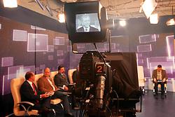 José Fortunati no debate político com os candidatos à prefeitura de Porto Alegre. FOTO: Jefferson Bernardes / Preview.com