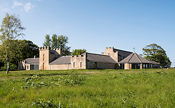 Exterior of Kingsbarns Scotch whisky distillery at St Andrews Scotland, united Kingdom