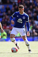 Ross Barkley of Everton in action. Barclays Premier League match, Everton v Norwich City at Goodison Park in Liverpool on Sunday 15th May 2016.<br /> pic by Chris Stading, Andrew Orchard sports photography.