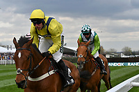 National Hunt Horse Racing - 2019 Randox Health Grand National Festival - Friday, Day Two (Ladies Day)<br /> <br /> 14:50 Aintree<br /> Fri 5 April 2019<br /> Betway Mildmay Novices' Chase (Grade 1) (Class 1)<br /> 3m 210y, Soft (Good to Soft in places)<br /> 6 Runners<br /> <br /> 4 Lostintranslation  heads to victory at Aintree Racecourse.<br /> <br /> <br /> COLORSPORT/WINSTON BYNORTH