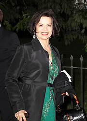 © London News Pictures. 26/06/2013. London, UK. Bianca Jagger at  The Serpentine Gallery summer party, Kensington Gardens London UK, 26 June 2013, Photo credit: Richard Goldschmidt/LNP