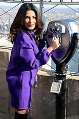 New York - Priyanka Chopra At The Empire State Building - 11 Nov 2016