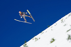 March 23, 2019 - Planica, Slovenia - Stefan Kraft of Austria in action during the team competition at Planica FIS Ski Jumping World Cup finals  on March 23, 2019 in Planica, Slovenia. (Credit Image: © Rok Rakun/Pacific Press via ZUMA Wire)