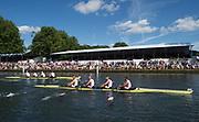 Henley-on-Thames. United Kingdom.  2017 Henley Royal Regatta, Henley Reach, River Thames. <br /> Visitors Challenge Cup Bucks, Leander Club vs Cambridge University.<br /> <br /> 15:56:48  Sunday  02/07/2017   <br /> <br /> [Mandatory Credit. Peter SPURRIER/Intersport Images.