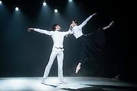 Jacopo Tissi and Svetlana Zakharova ,'Modanse' ballet, London Coliseum, UK  02 Dec 2019