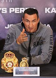 27 April 2017 - Boxing - Anthony Joshua v Wladimir Klitschko Press conference - Wladimir Klitschko - Photo: Marc Atkins / Offside.