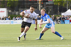 May 20, 2017 - Toronto, Ontario, Canada - QUENTIN LAULU-TOGAGA'E (1) in action during the Rugby League game between  game between Toronto Wolfpack and Barrow Rai (Credit Image: © Angel Marchini via ZUMA Wire)