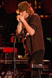 Matt Hubard on Harp. 7 Walkers in Concert in The Wolfs Den at Mohegan Sun Casino on December 9, 2010