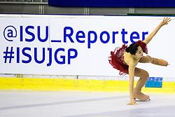 Yuka NAGAI of Japan at ISU Junior Grand Prix of Figure Skating Ljubljana Cup 2014 on August 29, 2014 in Hala Tivoli, Ljubljana, Slovenia. Photo by Matic Klansek Velej / Sportida