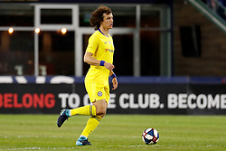 May 15, 2019 - Foxborough, MA, U.S. - FOXBOROUGH, MA - MAY 15: Chelsea FC defender David Luiz (30) looks wide during the Final Whistle on Hate match between the New England Revolution and Chelsea Football Club on May 15, 2019, at Gillette Stadium in Foxborough, Massachusetts. (Photo by Fred Kfoury III/Icon Sportswire) (Credit Image: © Fred Kfoury Iii/Icon SMI via ZUMA Press)