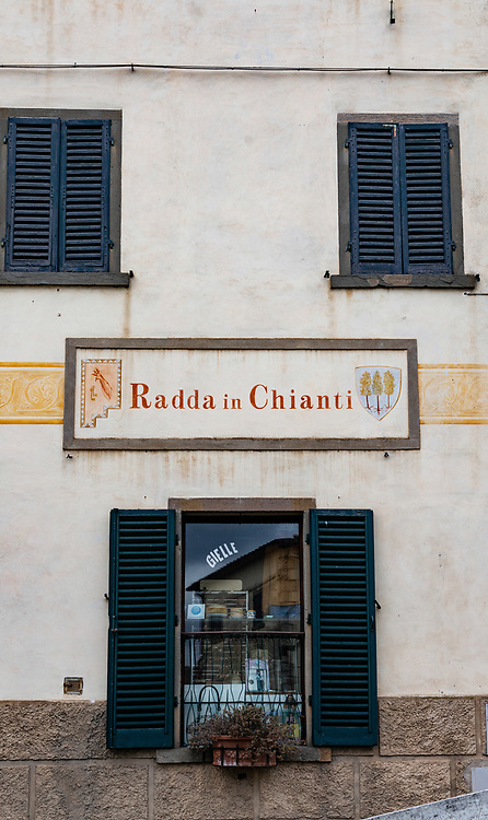 Medieval town of Radda in Chianti in Tuscany, Italy.