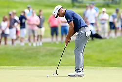 June 22, 2018 - Cromwell, Connecticut, United States - Xander Schauffele putts the 8th green during the second round of the Travelers Championship at TPC River Highlands. (Credit Image: © Debby Wong via ZUMA Wire)