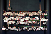 Good luck prayer tablets called Ema at the Yushima Seido temple, Tokyo, Japan