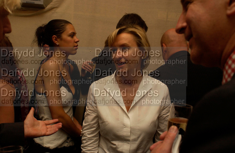 Boris Johnson and Tina Brown. Spectator party. Doughty St. London. 28 July 2005. ONE TIME USE ONLY - DO NOT ARCHIVE  © Copyright Photograph by Dafydd Jones 66 Stockwell Park Rd. London SW9 0DA Tel 020 7733 0108 www.dafjones.com