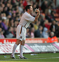 Photo: Lee Earle.<br /> Southampton v Hull City. Coca Cola Championship. 04/11/2006. Hull coach Phil Brown.