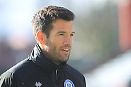 Caretaker Manager Brian Barry-Murphy during the EFL Sky Bet League 1 match between Rochdale and Shrewsbury Town at Spotland, Rochdale, England on 9 March 2019.