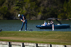 March 21, 2018 - Austin, TX, U.S. - AUSTIN, TX - MARCH 21: Jon Rahm hits a tee shot during the First Round of the WGC-Dell Technologies Match Play on March 21, 2018 at Austin Country Club in Austin, TX. (Photo by Daniel Dunn/Icon Sportswire) (Credit Image: © Daniel Dunn/Icon SMI via ZUMA Press)