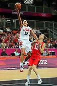 Basketball, Womens - USA vs Canada (Quarterfinal Round)