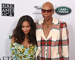 September 15, 2018 - Beverly Hills, California, USA - THANDIE NEWTON and RUPAUL ANDRE CHARLES attends the 2018 BAFTA Los Angeles + BBC America TV Tea Party at the Beverly Hilton in Beverly Hills. (Credit Image: © Billy Bennight/ZUMA Wire)