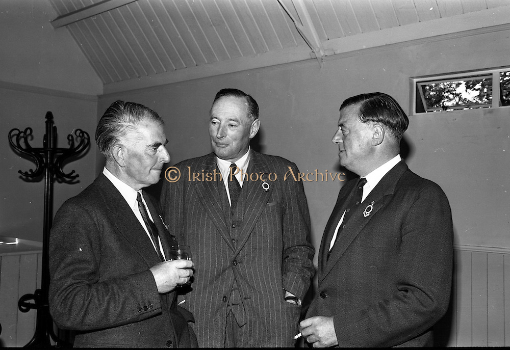 31/7/1964<br /> 07/31/1964<br /> 31 July 1964<br /> <br /> (L-R) Mr. Fred Langon Hon. Sec. Mr. Barrington and Mr. James Meeman Chairman of the Executive Committee speaking at the Luncheon