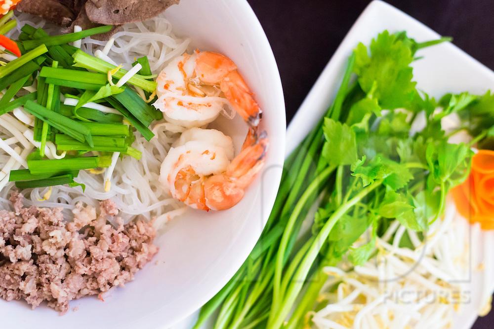 Nem N Nem Restaurant serving 'hu tieu Nam Vang,' 43 Mai Hac De, Hai Ba Trung, Hanoi, Vietnam, Southeast Asia