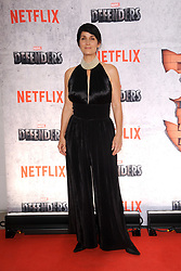 July 31, 2017 - New York, NY, USA - July 31, 2017  New York City..Carrie-Anne Moss attending Marvel's 'The Defenders' TV show premiere on July 31, 2017 in New York City. (Credit Image: © Kristin Callahan/Ace Pictures via ZUMA Press)