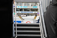 Steps up to the ground before Day 4 of the Specsavers County Champ Div 2 match between Durham County Cricket Club and Leicestershire County Cricket Club at the Emirates Durham ICG Ground, Chester-le-Street, United Kingdom on 21 August 2019.
