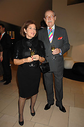 VALERIE KLEEMAN and ALAN WHICKER at the 2007 Luxury Briefing Awards at B&B Italia, 250 Brompton Road, London SW3 on 4th October 2007.<br /><br />NON EXCLUSIVE - WORLD RIGHTS