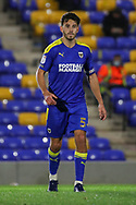 AFC Wimbledon defender Will Nightingale (5) walking off pitch during the EFL Sky Bet League 1 match between AFC Wimbledon and Doncaster Rovers at Plough Lane, London, United Kingdom on 3 November 2020. The first League match at the new stadium.