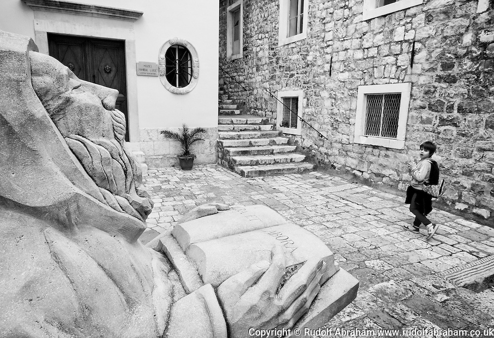 Benedictine Monastery and Hanibal Lučić statue, Hvar, Croatia © Rudolf Abraham