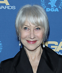 71st Annual Directors Guild Of America Awards - Arrivals. 02 Feb 2019 Pictured: Helen Mirren. Photo credit: Jaxon / MEGA TheMegaAgency.com +1 888 505 6342