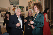 MICHAEL SANDLE, JESSICA ST JAMES, 2019 Royal Academy Annual dinner, Piccadilly, London.  3 June 2019