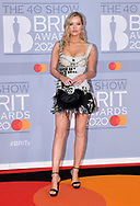 The 40th BRIT Awards show  Tuesday 18th February at The O2 Arena in London.<br />Laura Whitmore