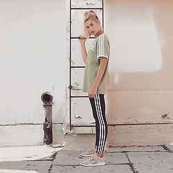 "Hailey Baldwin releases a photo on Instagram with the following caption: ""@adidas EQT! \ud83d\udc95\ud83d\udc95these! Make sure you check out the exclusive colourways only at @jdofficial @jdwomen #EQT"". Photo Credit: Instagram *** No USA Distribution *** For Editorial Use Only *** Not to be Published in Books or Photo Books ***  Please note: Fees charged by the agency are for the agency's services only, and do not, nor are they intended to, convey to the user any ownership of Copyright or License in the material. The agency does not claim any ownership including but not limited to Copyright or License in the attached material. By publishing this material you expressly agree to indemnify and to hold the agency and its directors, shareholders and employees harmless from any loss, claims, damages, demands, expenses (including legal fees), or any causes of action or allegation against the agency arising out of or connected in any way with publication of the material."