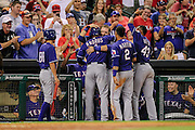 Aug 10, 2013; Houston, TX, USA; during the seventh inning at Minute Maid Park. Mandatory Credit: Thomas Campbell-USA TODAY Sports