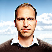 Portraits of Dara Khosrowshahi, CEO Expedia.com - 2010