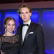 NLD/Amsterdam/20181219 - NOC*NSF Sportgala 2018, Eythora Thorsdottir en partner