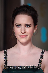 Rachel Brosnahan attending the after party for the 72nd British Academy Film Awards, at the Grosvenor House Hotel in central London. Picture date: Sunday February 10th, 2019. Photo credit should read: Matt Crossick/ EMPICS Entertainment.