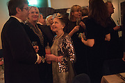 LOUISE FENNELL; LESLIE CARON; , Nicky Haslam hosts dinner at  Gigi's for Leslie Caron. 22 Woodstock St. London. W1C 2AR. 25 March 2015
