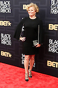 April 1, 2016- Newark, NJ: United States- Debra Lee, President & CEO, BET Networks attends the 2016 Black Girls Rock Red Carpet Arrivals held at NJPAC on April 1, 2016 in Newark, New Jersey. Black Girls Rock! is an annual award show, founded by DJ Beverly Bond, that honors and promotes women of color in different fields involving music, entertainment, medicine, entrepreneurship and visionary aspects.   (Terrence Jennings/terrencejennings.com)