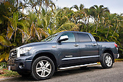 Toyota Tundra pickup truck on Anna Maria Island, Florida sunshine state, United States of America