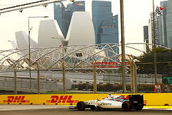 September 16, 2016 - Singapur, Singapur - Motorsports: FIA Formula One World Championship 2016, Grand Prix of Singapore, .#77 Valtteri Bottas (FIN, Williams Martini Racing) (Credit Image: © Hoch Zwei via ZUMA Wire)