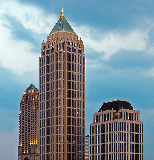 One Atlantic Center<br /> Johnson Burgee - Architect
