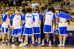 Rogaska players during basketball match between Ilirija and Rogaska in Liga Nova KBM, Playoff for Champion, on March 10, 2018 in Hala Tivoli, Ljubljana, Slovenia. Photo by Ziga Zupan / Sportida