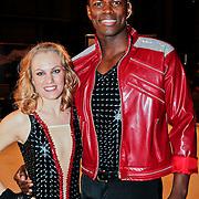 NLD/Utrecht/20110126 - Perspresentatie Sterren Dansen op het IJs 2011, Remy Bonjasky en Kellyn Koeppelinger