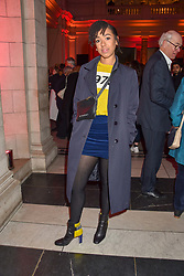 Pearl Mackie at the Mary Quant VIP Preview at The Victoria & Albert Museum, London, England. 03 April 2019. <br /> <br /> ***For fees please contact us prior to publication***
