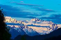 Snowcapped peaks, Haines, Southeast Alaska, USA