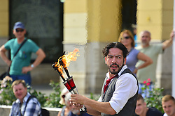 June 4, 2017 - Zagreb, Croatia - People during 21th Cest is d' Best international street festival on 04 Jun 2017 in Zagreb,Croatia  (Credit Image: © Alen Gurovic/NurPhoto via ZUMA Press)