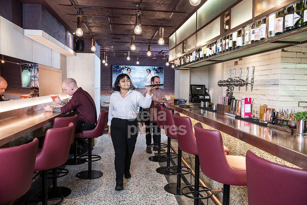A general view of Flavour Bastard in Soho as part of restaurant review.<br /> Picture by Daniel Hambury/Stella Pictures Ltd 07813022858<br /> 04/09/2017