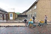 Nederland, Nijmegen, 20-10-2017Stadsuitbreiding met nieuwbouw in de nieuwe wijk De Grote Boel. NieuwNoord.Foto: Flip Franssen
